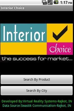 Interior Choice poster