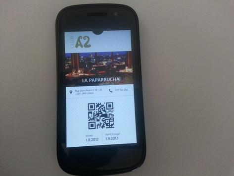 CLUB A2 - VSC Demo Card apk screenshot