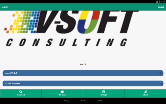 V-Soft Jobs apk screenshot