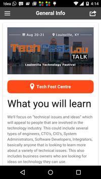 TechFestLou poster
