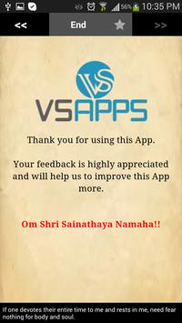 Sai Satcharitra English apk screenshot