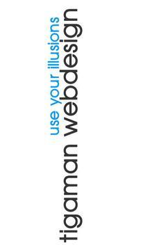 tigaman webdesign poster