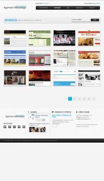 tigaman webdesign apk screenshot