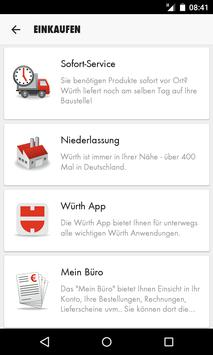 Würth Service apk screenshot