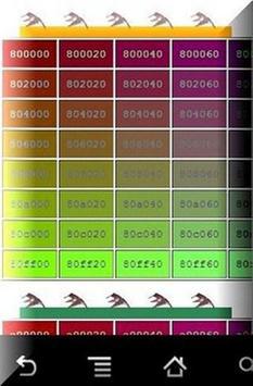 مرجع اكواد الالوان apk screenshot