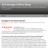333 Design Office Blog icon