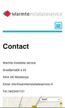 warmteinstallatieservice poster