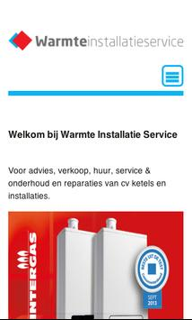 warmteinstallatieservice apk screenshot