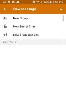 wiheart Messenger apk screenshot