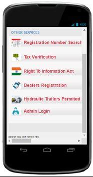 Telangana RTA Search poster