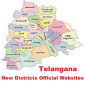Telangana New Dist Websites icon