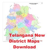 Telangana Dist Maps Download icon