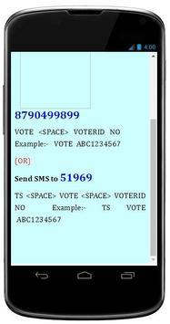 Telangana Voters List Search apk screenshot