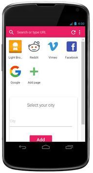 Light Browser apk screenshot