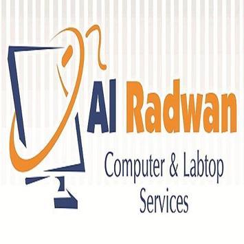 AL RADWAN Computer Services poster