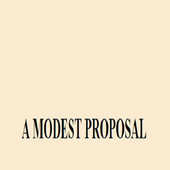 A MODEST PROPOSAL icon