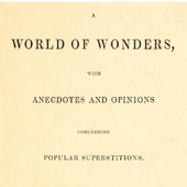 A WORLD OF WONDERS icon