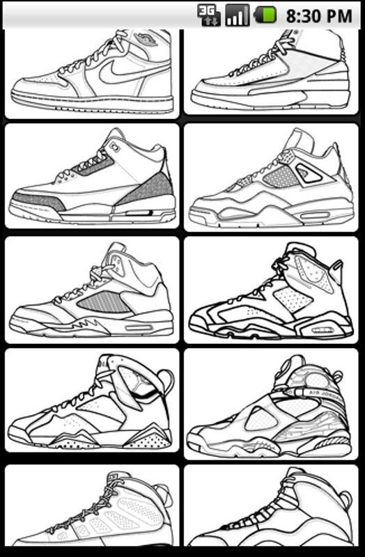 Air Jordan Coloring Book APK Download