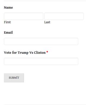 Election'16 Who You Gonna Vote apk screenshot