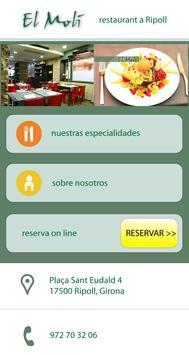 Restaurante El Molí de Ripoll poster