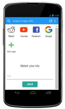 Arien Browser apk screenshot