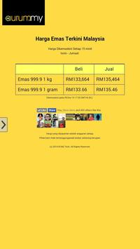 Malaysia Gold Price poster