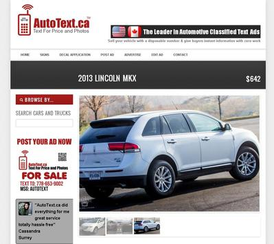 AutoText.ca Auto Buy Sell poster