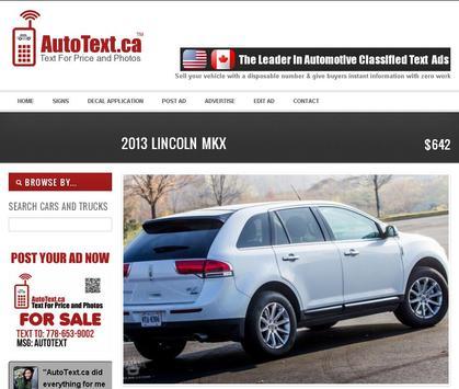 AutoText.ca Auto Buy Sell apk screenshot