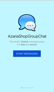 Azaria Shop Group Chat poster