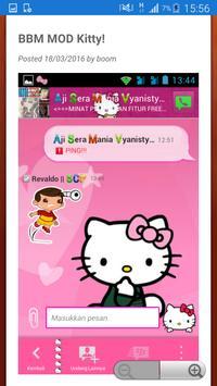 BBM MOD TRANSPARAN Pro apk screenshot