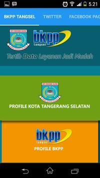 BKPP TANGSEL apk screenshot
