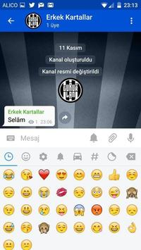BJK Messenger apk screenshot