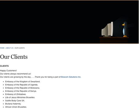BOSCOM SOLUTIONS INC apk screenshot