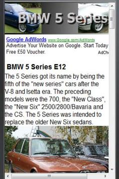 BMW 5 Series apk screenshot