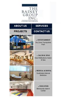 Bainey Group Construction poster