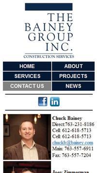 Bainey Group Construction apk screenshot