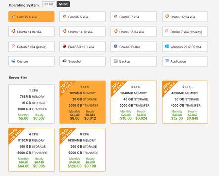 Free SSD Cloud Servers apk screenshot