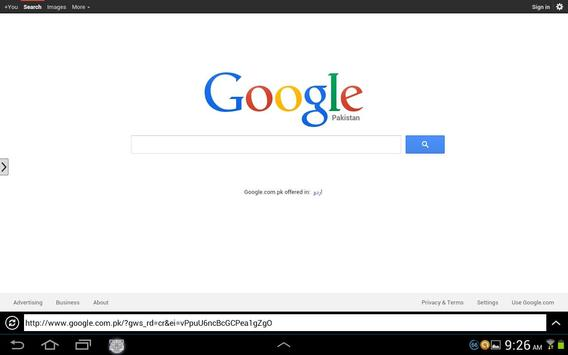 Best & Fast Web Browser apk screenshot