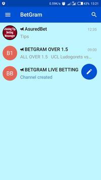 BetGram- Betting Tips channels apk screenshot