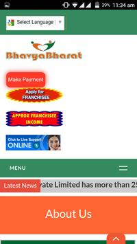 BhavyaBharat Web apk screenshot