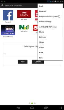 Bingo Browser app poster