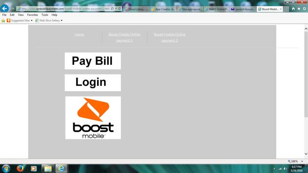 Xpress Boost Mobile Bill Pay poster