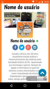 BodiveiBlog apk screenshot