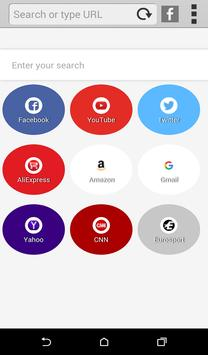 Bolt Browser for Android apk screenshot