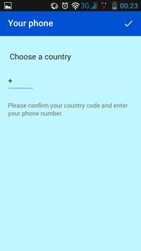 BleuChat Messenger apk screenshot