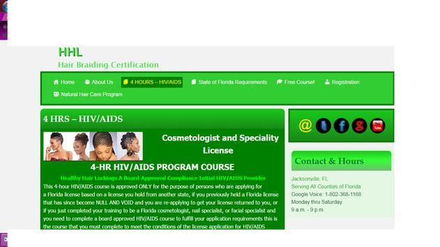 Hair Braiding Certification apk screenshot