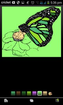 Butterfly Coloring apk screenshot
