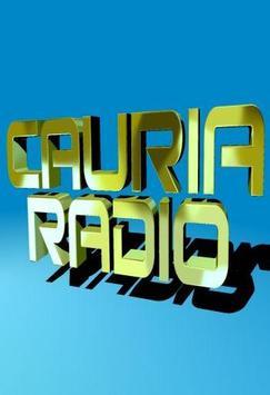 CAURIA RADIO poster