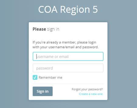 COA5 poster