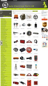 CS Auto Electrical Parts UK poster